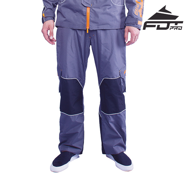 Professional Pants of Grey Color for Any Weather Use