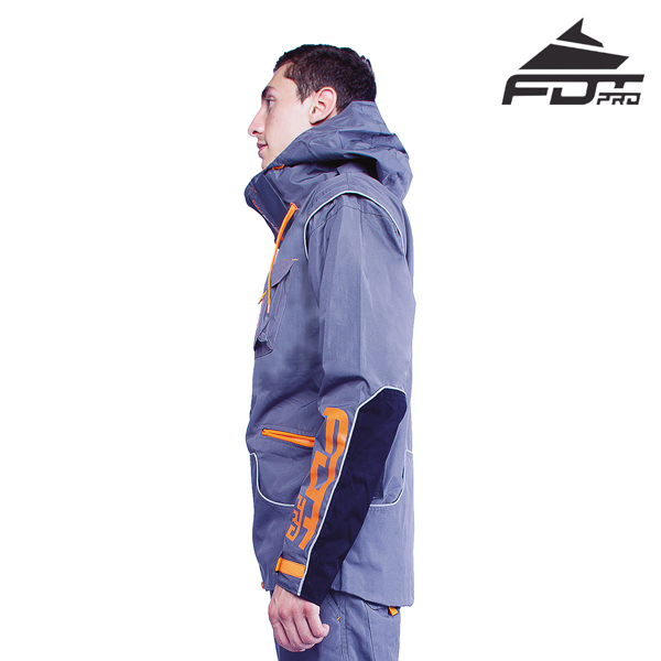 FDT Professional Dog Trainer Jacket of Top Quality for Any Weather