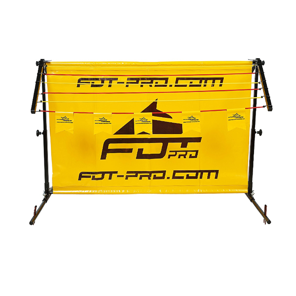 Aluminum/Polyster Dog Barrier for Long Jump Training