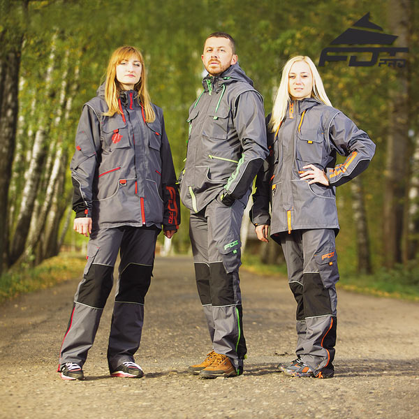 Strong Dog Training Suit for All Weather Conditions