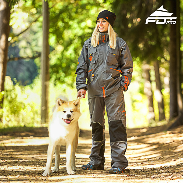 Unisex Design Dog Tracking Jacket of Fine Quality Materials