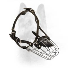 Unbelievable Wire Basket Canine Dogs Rust Free Muzzle