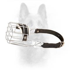 Durable Metal Anti-Rust Canine Dog Muzzle