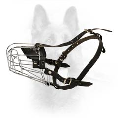 Canine Multi-Purpose Metal Basket Dog Muzzle