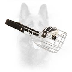 Control-Your-Dog Wire Cage Service Dogs Muzzle